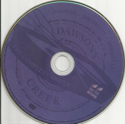 Dawson's Creek the Complete Series Disc 20 Containing Season 6 Episodes 1-6 Replacement Disc!