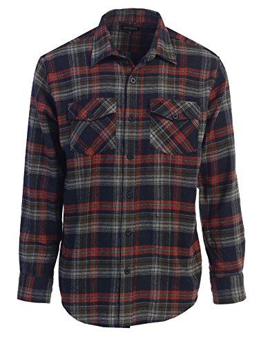 ee5bd79ec85  19.99 Gioberti Men s Flannel Shirt