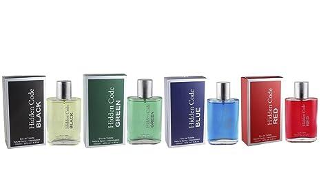 Perfume para hombres Fine Perfumery Hidden Collection, paquete de 4 unidades