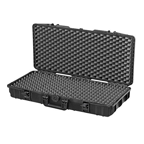 31'' Rifle Case Waterproof hard case Elephant Elite EL3105 With Convoluted Foam for short gun and rifles with Magazines and Accessories, Watertight Hard Plastic case by Elephant Cases