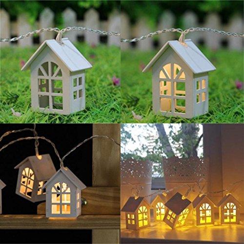Led Paper Lantern Light With 12 Super Bright White Leds in US - 5