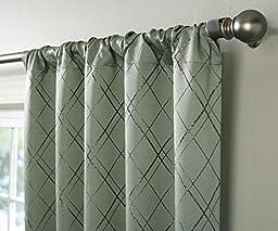 Veratex Bannerton Rod Pocket Panel, Sage Green, 84\