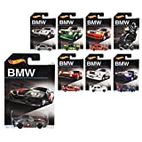 Hot Wheels BMW Anniversary assorted collection set 8 model a total of 12 units, input [Japan Genuine] (DJM79)
