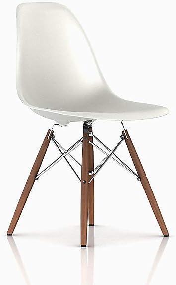 Dowel Bar Stool or Counter Chair Base for Herman Miller Eames Fiberglass Shell