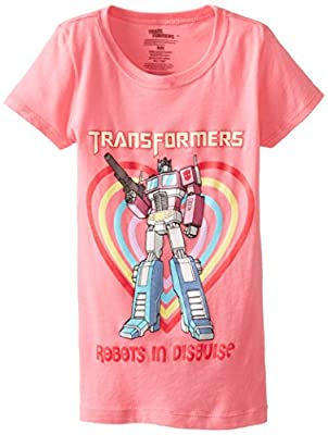 Transformers Girls' Robots In Disguise T-Shirt