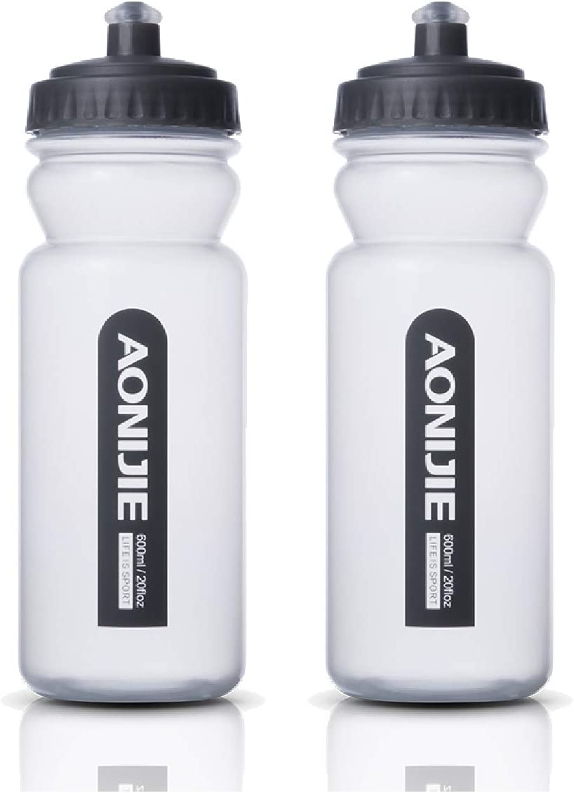 TRIWONDER Botella de Agua Deportiva Botella Blanda Libre de BPA a Prueba de Fugas Ideal para Running Ciclismo Senderismo
