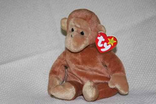 BONGO the Monkey - Ty Teenie Beanie Babies