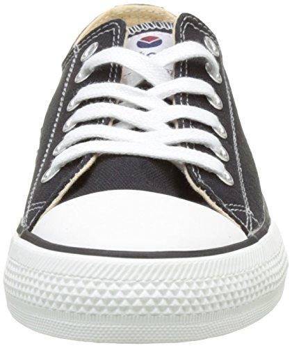 Victoria Unisex Adults' Zapato Basket Autoclave Hi-Top Trainers, White Black (Black 10)