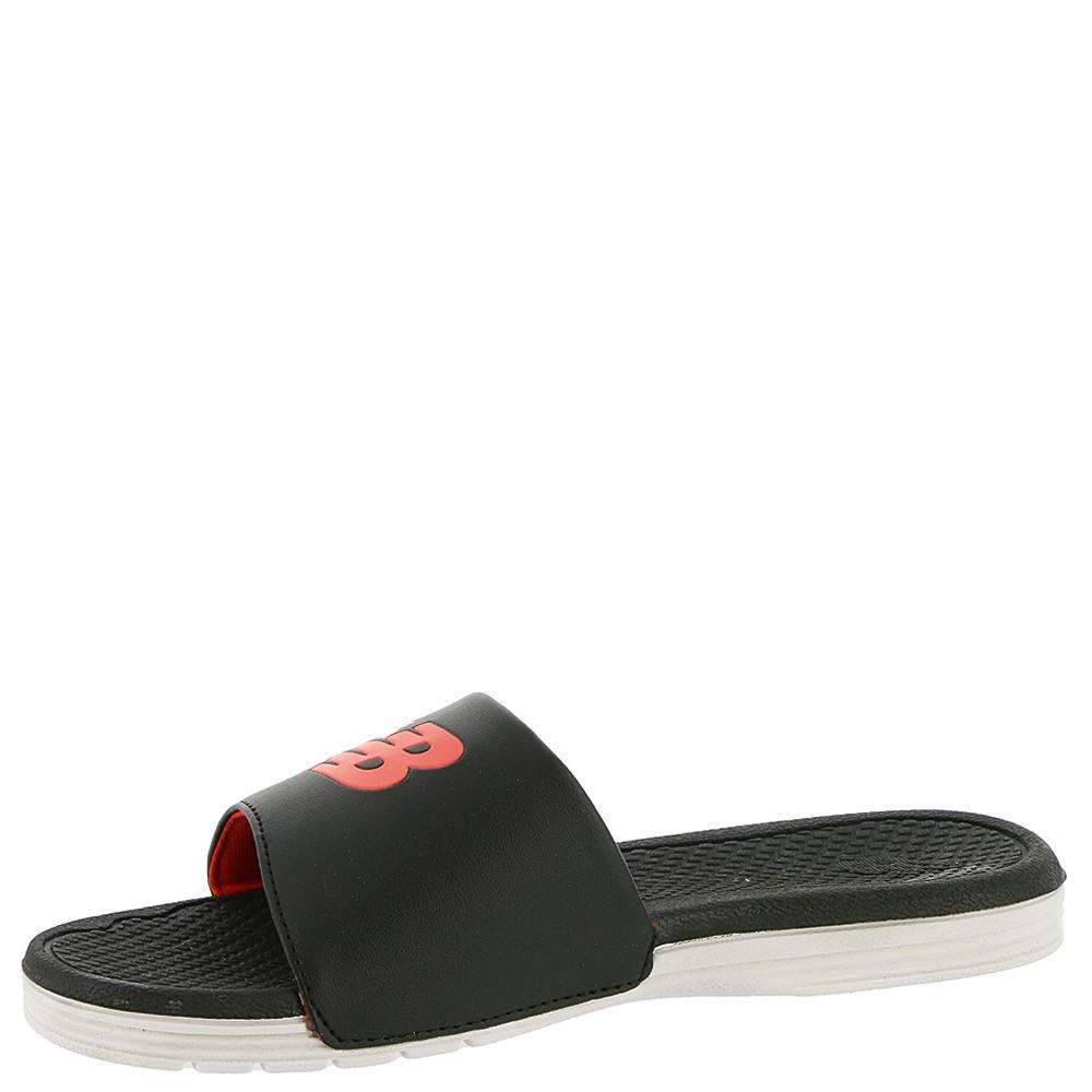 New Balance Unisex NB Pro Slide US Sandal, schwarz Weiß rot, P2 M US Slide Little Kid 2685fd