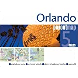 Orlando PopOut Map - handy pocket size pop-up map of Walt Disney World and Orlando Florida (PopOut Maps)