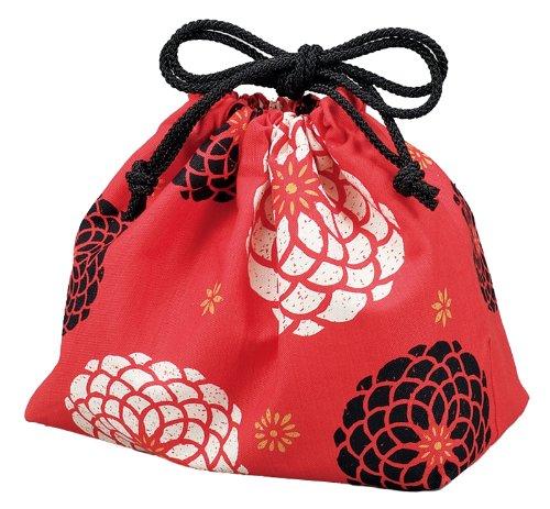 HYACCA 53745 HAKOYA drawstring bag red (japan import)