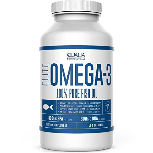 Qualia Nutraceuticals Elite Omega Supplement product image
