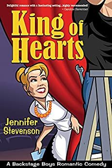 King of Hearts (Backstage Boys Book 1) by [Stevenson, Jennifer]