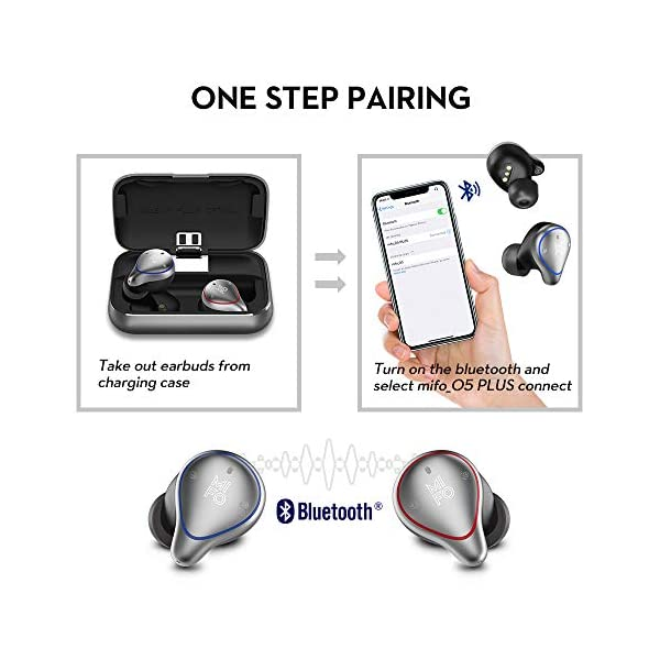 Easy Pairing Bluetooth Earbuds