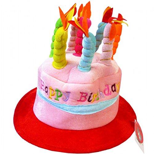 Novelty Happy Birthday Cake Hat Amazoncouk Kitchen Home