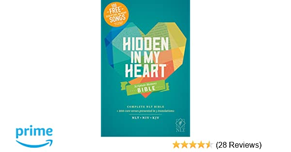 Hidden in My Heart Scripture Memory Bible NLT (Softcover