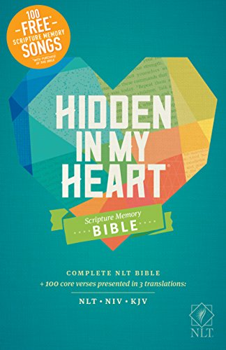 Hidden in My Heart Scripture Memory Bible NLT