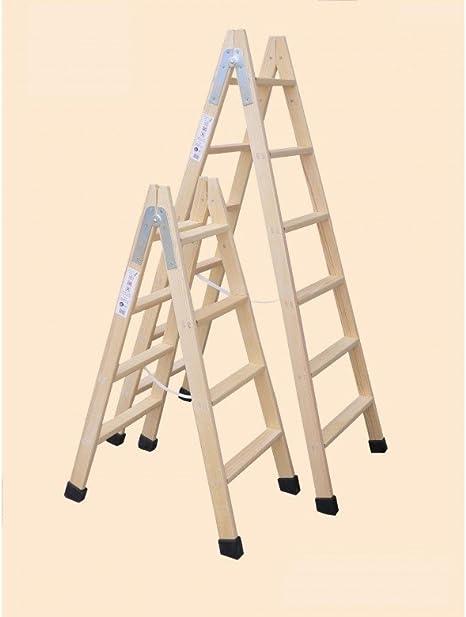 Escaleras Climent Cb - Escalera Madera Doble 4-P Con Taco D4T: Amazon.es: Bricolaje y herramientas