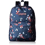 JanSport Unisex SuperBreak Navy Sweet Blossom Backpack