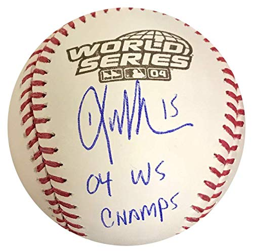 Autographed 2004 World Series Baseball - Kevin Millar