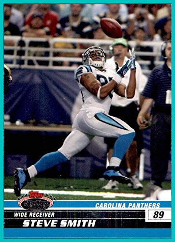 2008 Stadium Club #30 Steve Smith Sr. CAROLINA PANTHERS UTAH - 2008 Stadium Club