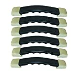 Antrader Carrying Pull Handle 6pcs Plastic Spare Strap Grip Repair Replacement for Suitcase Luggage Case