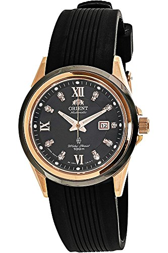 Orient Contemporary Watch FNR1V001B0 - Rubber Ladies Automatic Analogue