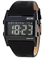 EOS New York Unisex 260SBLK Nocturne Tre Large Digital Display Black Watch