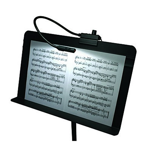 Littlite MS-12-LED | 12 inch LED Gooseneck Music Stand Light with Power Supply by Littlite