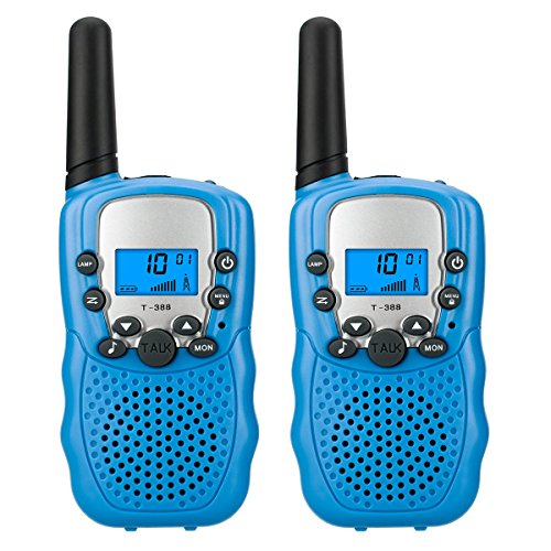 These awesome little walkie talkies
