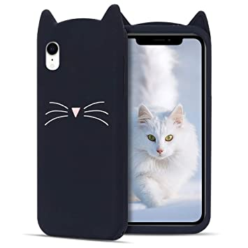 coque iphone xr liquide chat