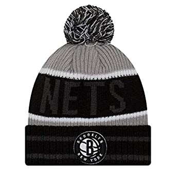 7cc4f8642 Image Unavailable. Image not available for. Color: New Era Mens Brooklyn  Nets Banner Block Beanie ...