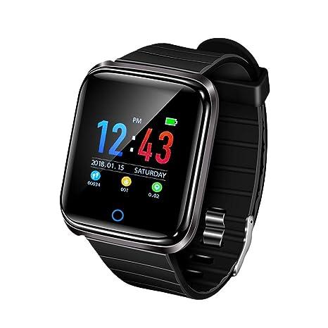 Popchilli Smart Watch podómetro Impermeable para Mujer Reloj Inteligente Impermeable Rastreador de Ejercicios para Android Samsung