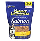 Arctic Paws Yummy Chummies Dog Treats 2.5Lbs, 40 Oz Wild Alaskan Salmon With Glucosamine And Chondroitin, Grain Free