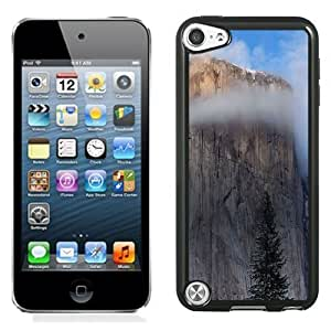 NEW Unique Custom Designed iPod Touch 5 Phone Case With Mac OSX Yosemite Cliff_Black Phone Case
