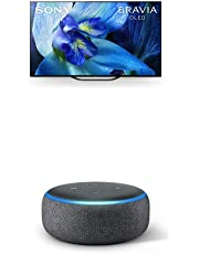 $2798 » Sony XBR-65A8G 65 Inch TV: BRAVIA OLED 4K Ultra HD Smart TV with HDR and Alexa Compatibility - 2019 Modeland Echo Dot (3rd Gen) - Smart Speaker with Alexa - Charcoal