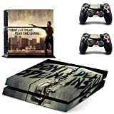 Vanknight Vinyl Decal Skin Sticker The Walking Dead Rick Grimes for PS4 Playstaion Controllers