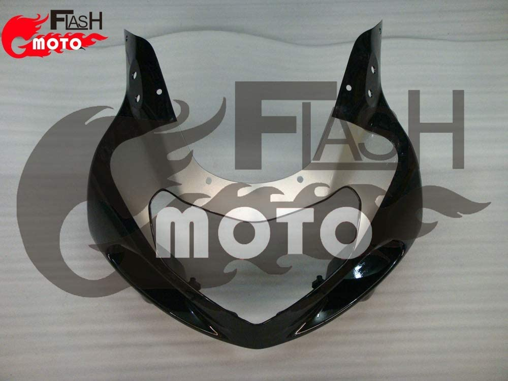 FlashMoto Fairings for Suzuki GSX R600 R750 2001 2002 2003 Painted Motorcycle Injection ABS Plastic Bodywork Fairing Kit Set Black /£/¬ Silver