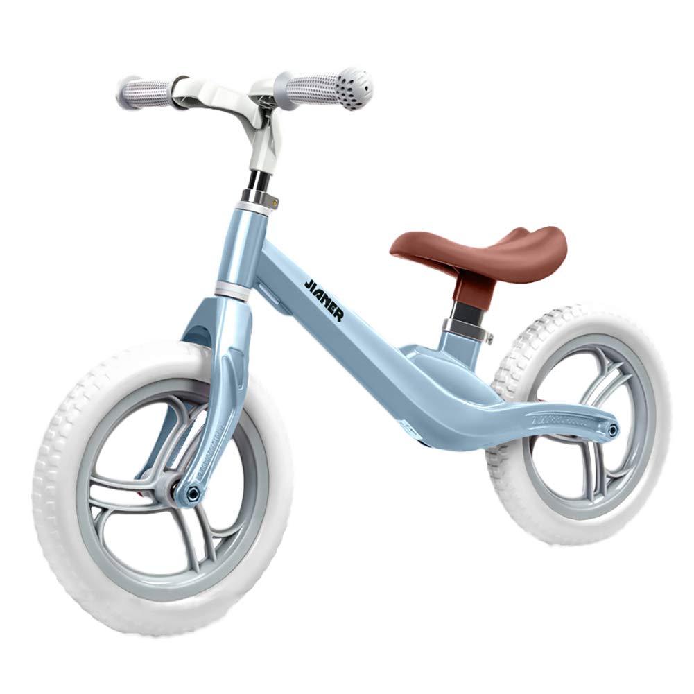 マグネシウム合金 子供 自転車 ペダルなし 2-6歳 2ラウンド 子供 自転車  Blue B07LH4PGCP