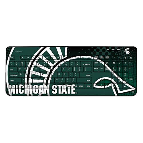 Michigan State University Wireless USB Keyboard NCAA