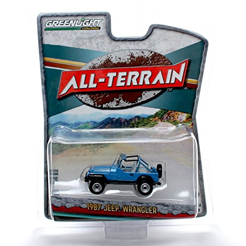 1987 JEEP WRANGLER * All-Terrain Series 3 * 2016 Greenlight Collectibles 1:64 Scale Limited Edition Die-Cast Vehicle