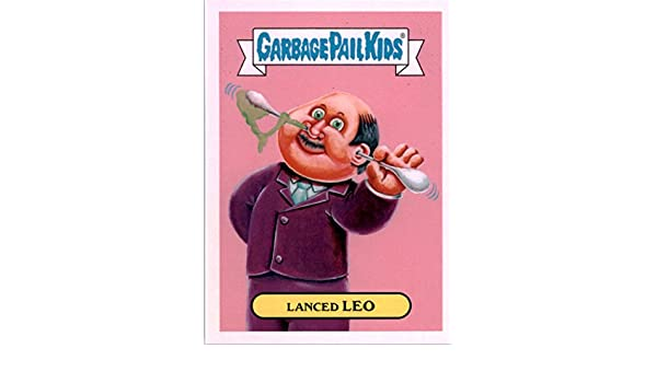 2016 Garbage Pail Kids Apple Pie American Inventors #8a Lanced Leo at Amazons Sports Collectibles Store