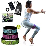 MVN Hip Resistance Band – Exercise Hip Bands for Legs and Butt Workouts, Non Slip Design Review
