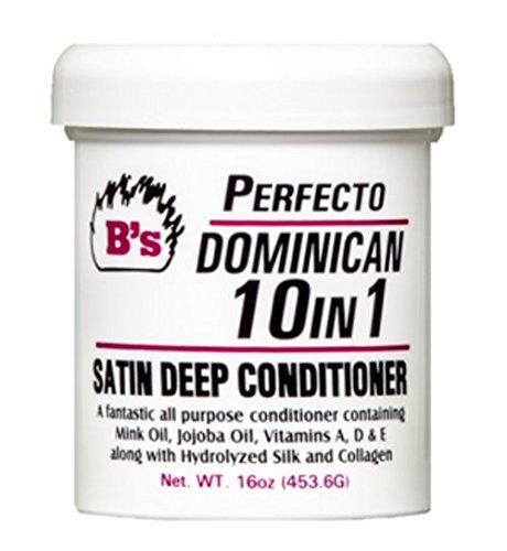 B's Perfecto Dominican 10-in-1 Satin Deep Conditioner