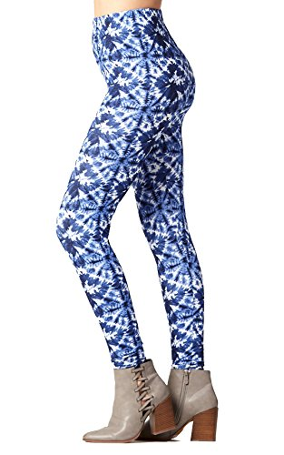 Buttery-Soft Printed Leggings for Women 100+ Prints and Solids in Regular and Plus Size - Snowy Mountains - One Size (0-12)