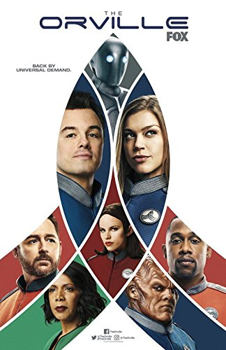 "THE ORVILLE - 11""x17"" Original Promo TV Poster SDCC 2018 Fox Comic Con"
