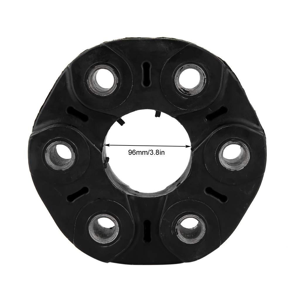 Qii lu 96mm 6 Holes Driveshaft Flex Disc Driveshaft Drive Shaft Coupling Flex Joint Disc Fit for E46 E36 E39 E34 X5 26117511454