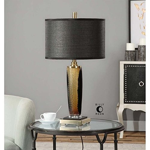 Uttermost 26602-1 Circello Textured Glass Table Lamp from Uttermost