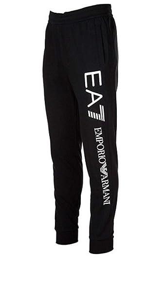 d6248c93392c32 Pantaloni EA7 Emporio Armani 7 ea felpa tuta uomo 8NPPA1 elastico sotto  polsino - Colore Nero - Taglia XXXL: Amazon.it: Abbigliamento