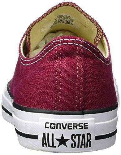 Converse Unisex-volwassenen Ct All Star Seizoensgebonden-ox-kastanjebruin Gymnastikschuhe Rot (kastanjebruine)